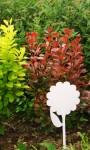 Садовые таблички цветок (желтые)